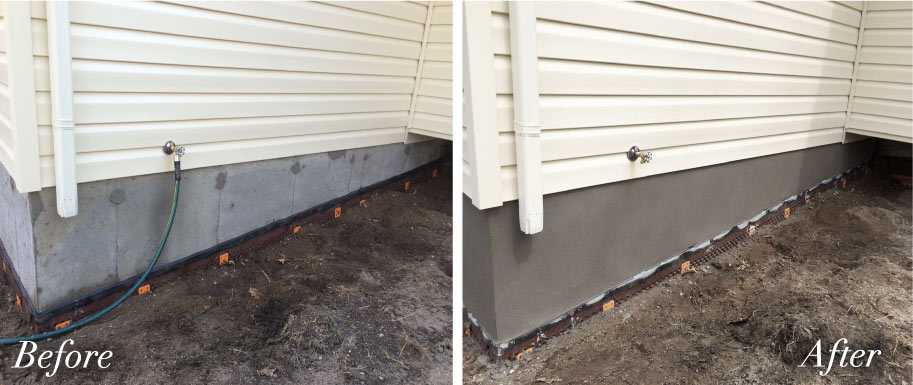 Parging Amp House Foundation Repairs London Ontario